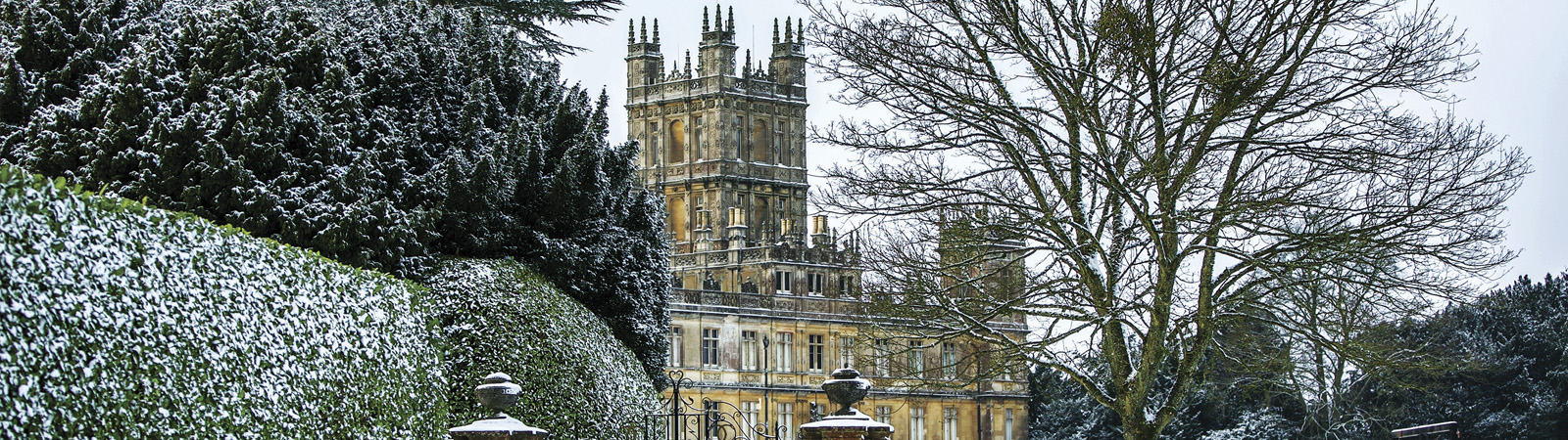 Downton Abbey Christmas Ball At Highclere Castle