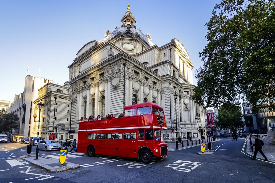 vintage bus tour london