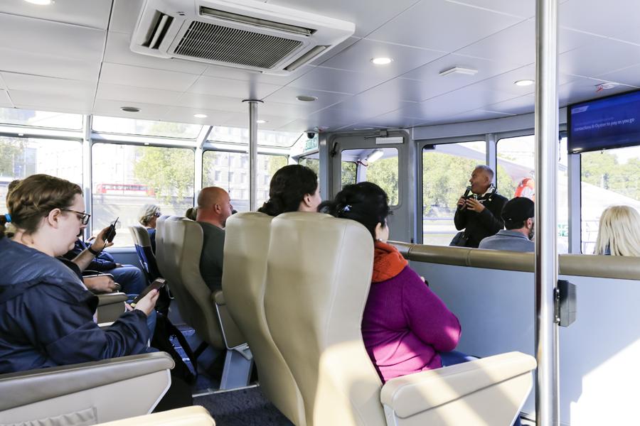 vintage bus tour london river cruise