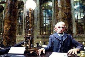 Gringotts goblin at Warner Bros Studio Tour - The Making of Harry Potter