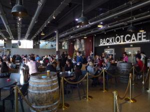 Backlot Studios cafe at Warner Bros Studio Tour London
