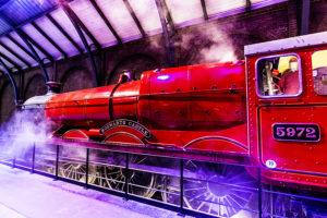 Hogwarts Express at Platform 9 3/4 - Warner Bros Studio Tour London - The Making of Harry Potter