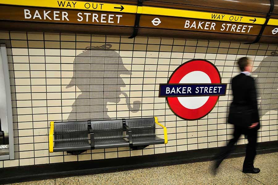 London Sherlock Holmes walking tour, Baker Street