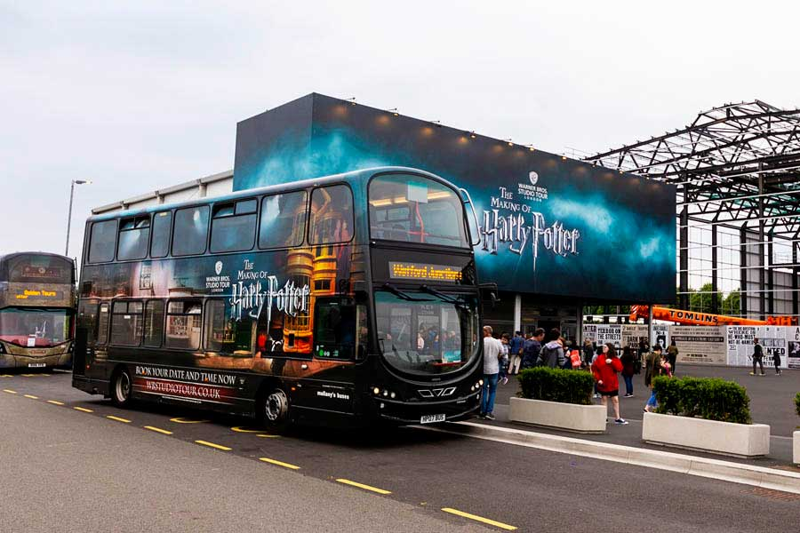 Most of family visits to London cover Harry Potter studio tours which is a bit out of London, in Watford. A tour makes it easy by solving the transportation with luxury coaches.