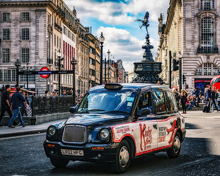 Black cab is a London icon itself and can give the best private London tours possible
