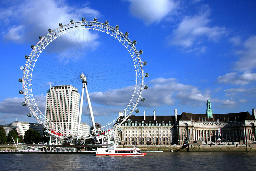 London Eye tickets can be combined with London tours
