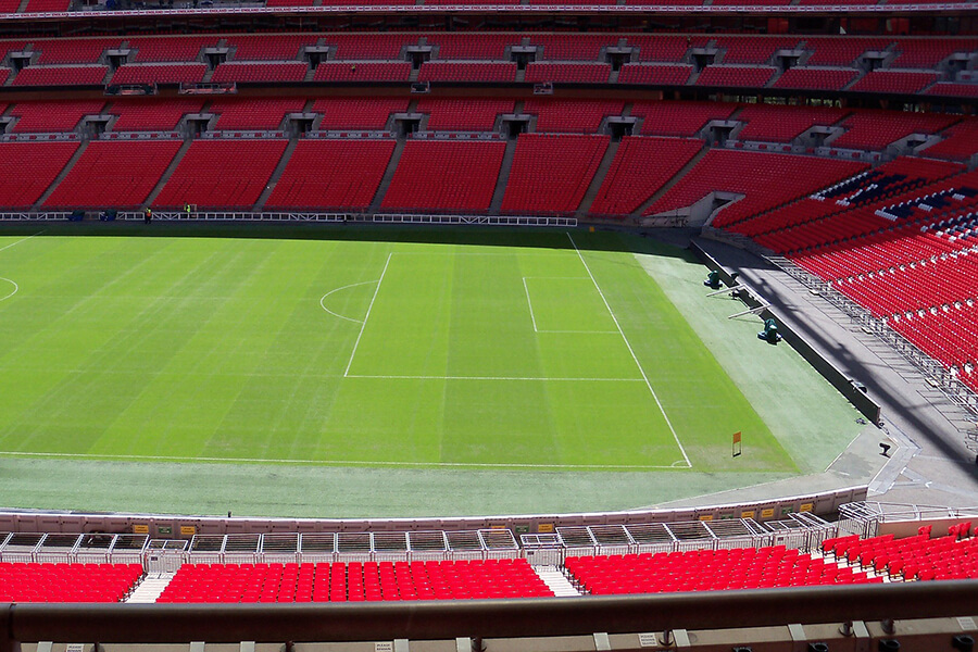 Wembley Stadium tour is a great option for football lovers as well as music fans