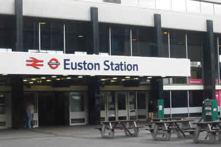 Euston Station London