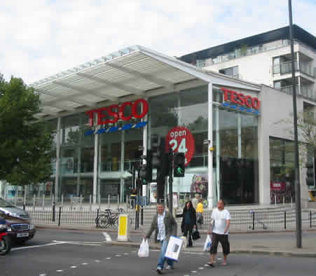 Tesco Earls Court Kensington