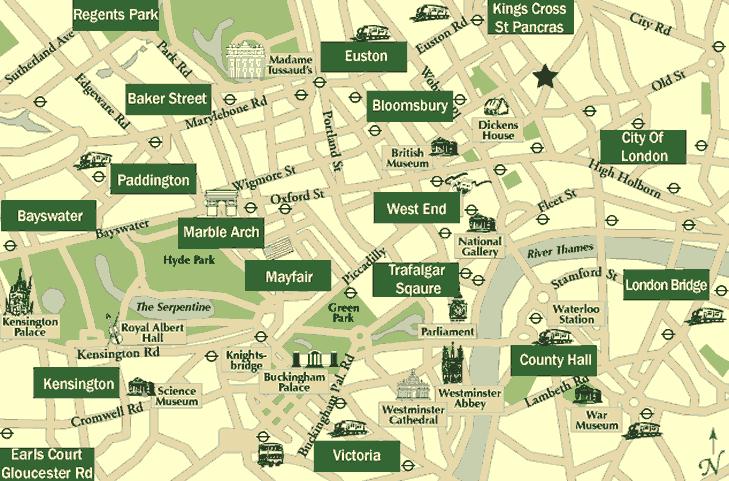 List Hotels Near London City Airport