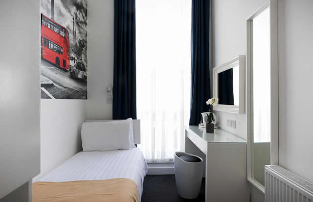 Single Hotel Room London