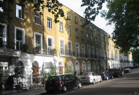 Cheap B&B's In Argyle Square Kings Cross London