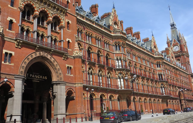 Hotels Near London St Pancras International
