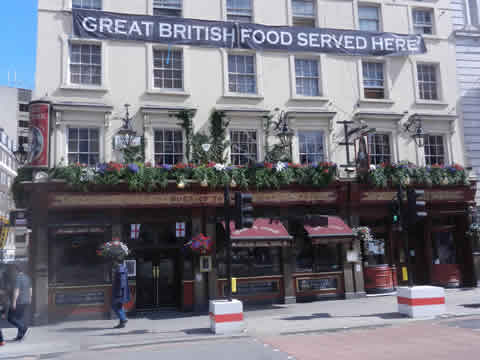 Typical Pub In London Victoria