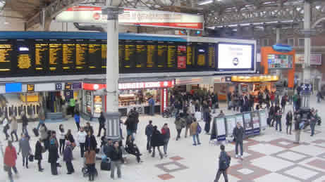 Victoria Train Station London What To Expect Facilities