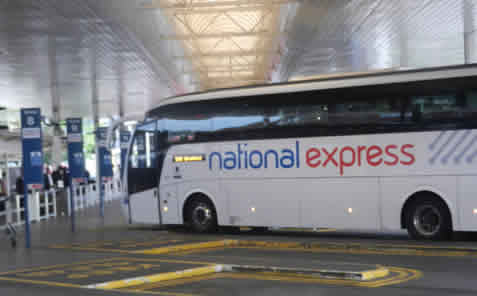Heathrow Luton Airport Bus National Express Bus At Heathrow  Coach Station