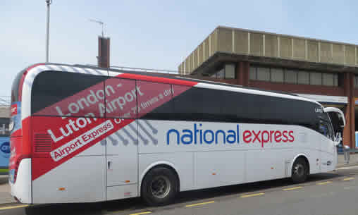 National Express Luton Airport Bus