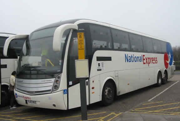 Stansted Airport Coach Of National Express