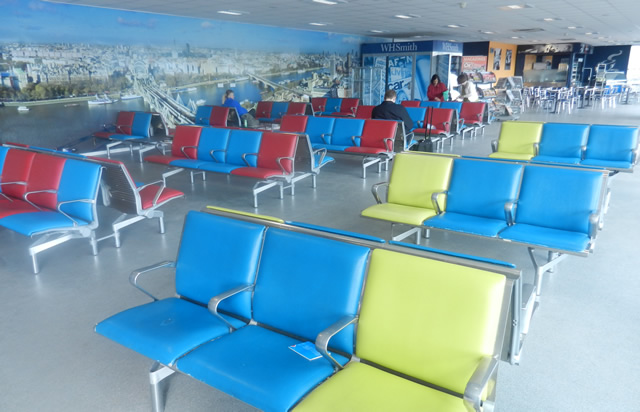 Stansted Airport Bus Station Waiting Room