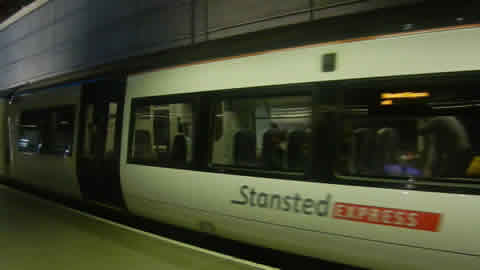train times stansted airport cambridge station