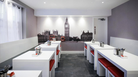 Hotel Meridiana, a bed and breakfast hotel in Kings Cross London